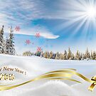 Great background image for creating Holiday Greeting postcards or computer wallpapers by Anton Oparin