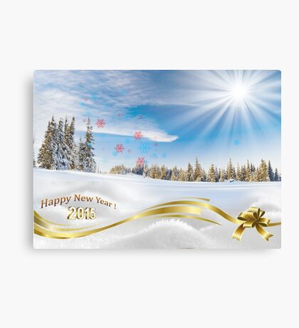 Great background image for creating Holiday Greeting postcards or computer wallpapers Canvas Print