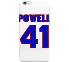 National baseball player Grover Powell jersey 41 iPhone Case/Skin