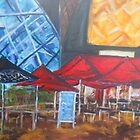 Federation square by Jill Camilleri