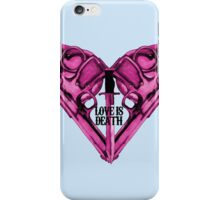 Love Is Death Heart Weapons iPhone Case/Skin