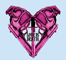 Love Is Death Heart Weapons by LVBART