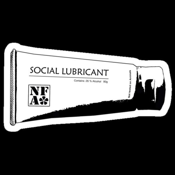 Social Lubricant by nofrillsart