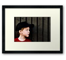 Louis Framed Print