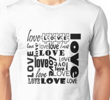Iskybibblle/ Love is all around Unisex T-Shirt
