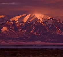 Blanca Sunset by Ryan Wright