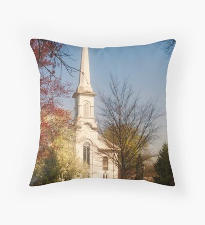 Westfield Presbyterian Church Throw Pillow