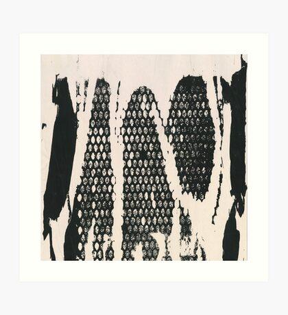 Abstraction number zero  Art Print