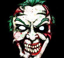 Zombie Clown by LVBART
