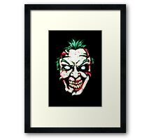 Zombie Clown Framed Print