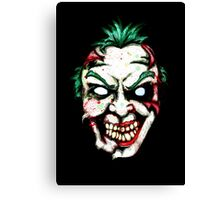 Zombie Clown Canvas Print