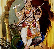 Sarasvati by Yia  Alias