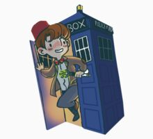 Doctor Who - sticker by ayangelo