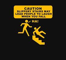 Caution sign funny tshirt design Unisex T-Shirt