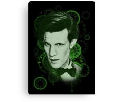 Clockface Doctor Canvas Print