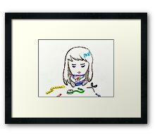Arts and Crafts Framed Print