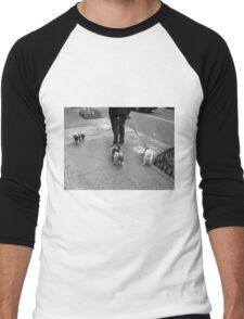 New York Street Photography 36 Men's Baseball ¾ T-Shirt