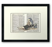 The Sleeper (Astral Projection) Framed Print