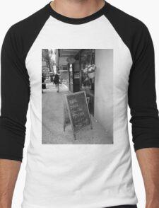 New York Street Photography 38 Men's Baseball ¾ T-Shirt