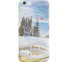 Great background image for creating Holiday Greeting postcards or computer wallpapers iPhone Case/Skin