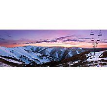 Mount Hotham, Victoria, Australia Photographic Print
