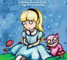 Alice Can't Go Back by LVBART