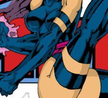 Psylocke of the X-MEN Sticker