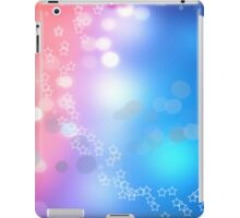 3d two colors winter holiday background 1 iPad Case/Skin