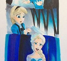 Elsa evolution  by artistic-shasta