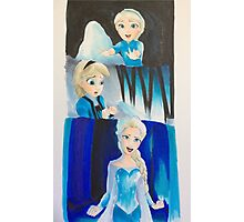 Elsa evolution  Photographic Print