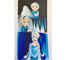 Elsa evolution  Photographic Print
