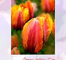 Tulips for Mothers Day by William Martin