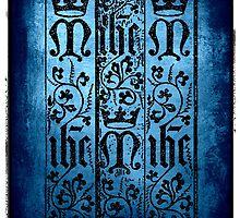 grunge stamped text design by fantasytripp