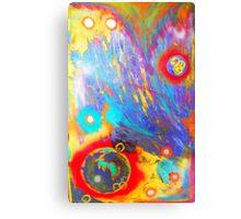 Unpredictable Galaxy Canvas Print