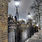 Greenwich Park Gates by Karen Martin