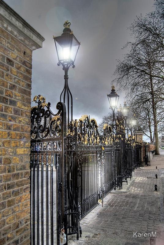 Greenwich Park Gates by Karen Martin