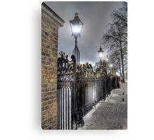 Greenwich Park Gates Canvas Print
