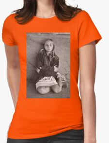 """""""Children of Tomorrow: Homeless Project"""" Womens Fitted T-Shirt"""