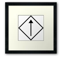 Dependent Current Source Framed Print