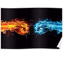 Fiery Fists Poster