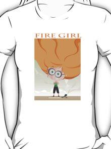 Fire Girl t-shirt T-Shirt
