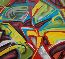 Abstract Colors Close Up by grimelab1