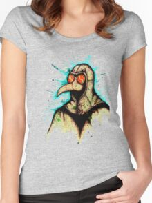 Plague Doctor 2.0 Women's Fitted Scoop T-Shirt
