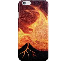 How Volcanoes are Made with Sky Lava iPhone Case/Skin
