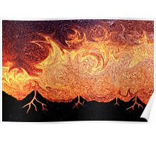 How Volcanoes are Made with Sky Lava Poster