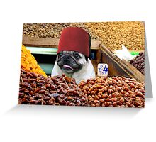 DATE SELLER - MARRAKECH Greeting Card