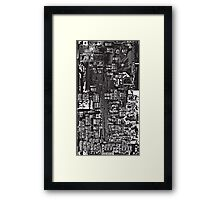 Circuit Framed Print