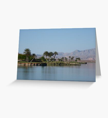 Golfers Paradise Greeting Card