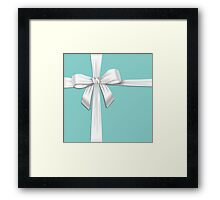 Tiffany Blue Box Framed Print