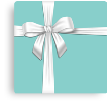 Tiffany Blue Box Canvas Print